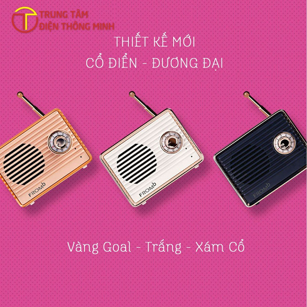 Loa mini Bluetooth am thanh lon Fromb Han Quoc - Trung tam dien thong minh